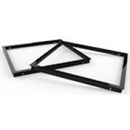 Black Plastic 2'x2' Surface Mount Frame