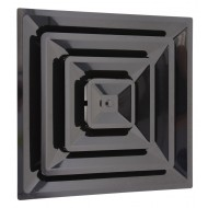black 2x2 plastic supply