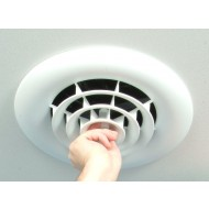 One Person Install Ceiling Diffuser